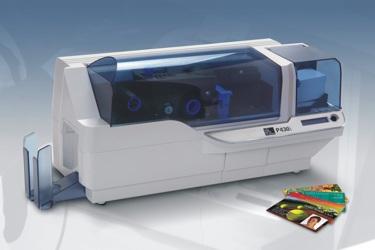 Tiskárny plastových karet Zebra P430i