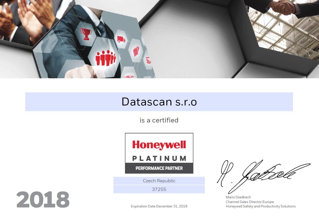 Honeywell-2018-certificate