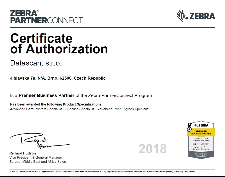 zebra-certificate-2018