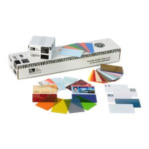 Kvalitní plastové karty Zebra pro dokonalý tisk