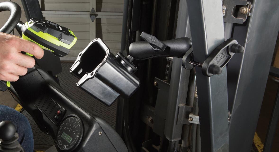 Bezpečné uchycení vašich elektronických přístrojů? Kvalitní a spolehlivé držáky RAM Mounts zvýší produktivitu pracovníků!