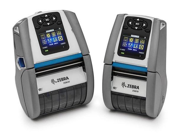 Mobilní tiskárna etiket Zebra ZQ600 HC Series